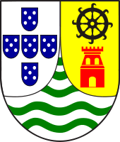Coat of Arms of Goa as a Portuguese enclave 1935–1961.