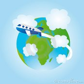 earth-airplane-cartoon-20521819