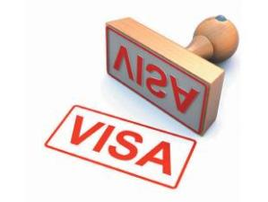 Visa stamp image